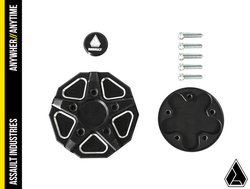 Assault Industries 3 Piece Aluminum Gas Cap - Polaris RZR