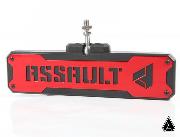 Assault Industries Hellfire Front Grill Aluminum Finish w/ Lightbar Cutout Polaris RZR XP Turbo S 18-19