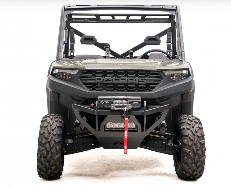 Fab Fours SXFB-1350-1 Winch Ready Front Bumper Polaris Ranger 1000 2018-2019