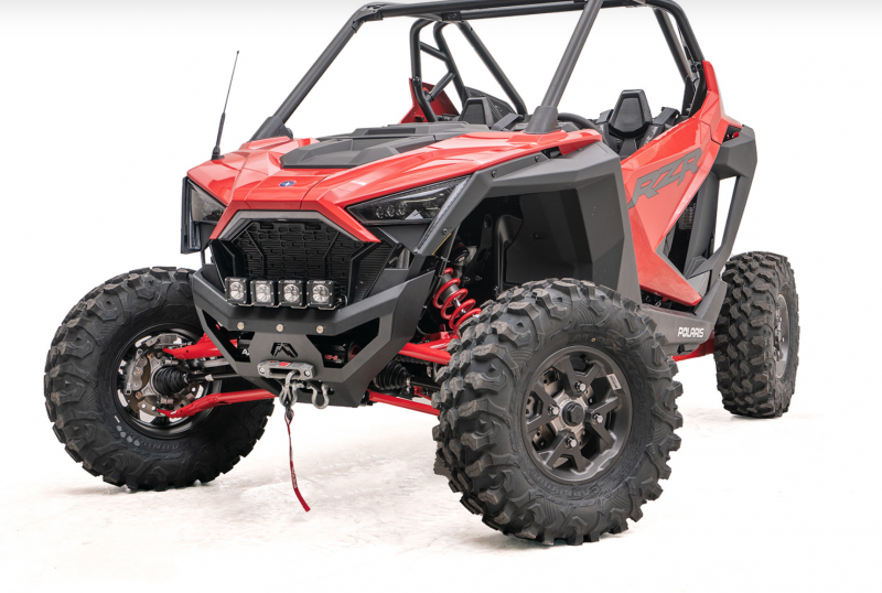 Fab Fours SXFB-1450-1 Winch Ready Front Bumper Polaris RZR XP Pro 2020+