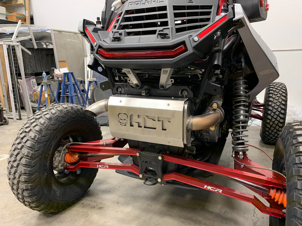 HCT Exhaust Stainless Quietcore™ System - Polaris RZR XP 1000 CLOSEOUT