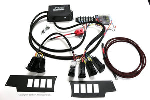 XTC Power Control System - 6 Switch, 4 Relays with RZR Switch Plates