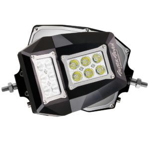Sector Seven Spectrum Mirror Lights with M10-1.25 Threaded Ball Mount