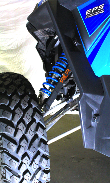 Sandcraft Suspension Limit Strap Kit - Polaris RZR XP Turbo