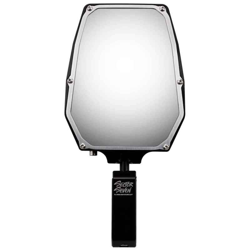 Sector Seven Spectrum Mirrors with Universal Clamp ( 1/2 spud )