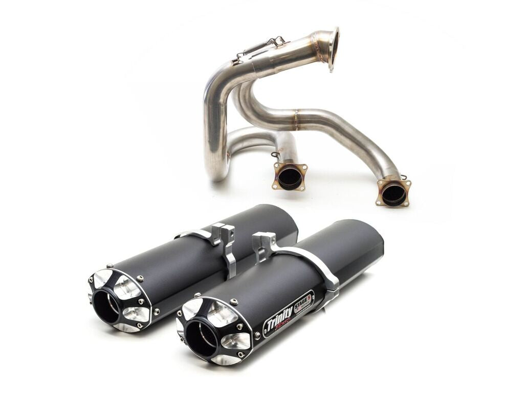 Trinity Racing Exhaust Can Am Maverick XDS Turbo