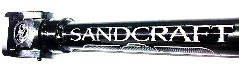 Sandcraft XP Turbo 4 Seat Full Replacement Driveshaft W Carrier Bearing