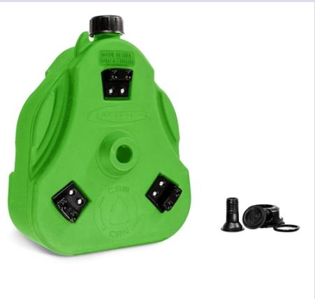 Cam Can (can w spout only) Bright Green 2 gallon