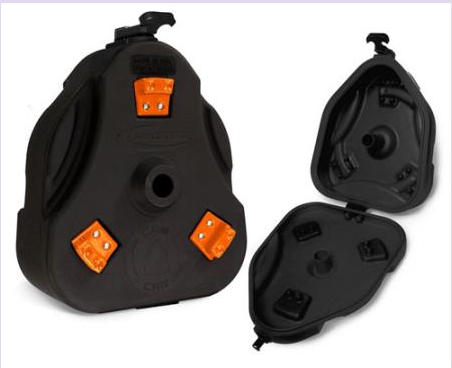 Cam Can Trail Box (box only) Black Orange