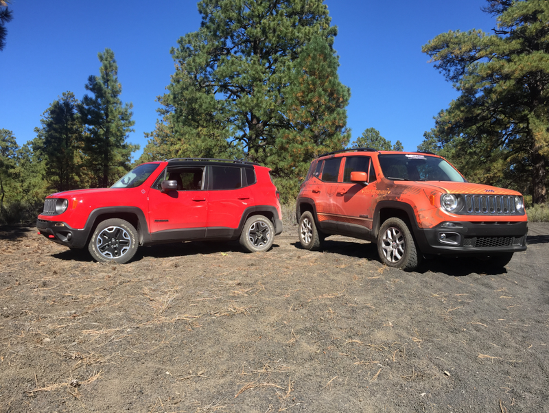 Jeep Renegade Fiat 500X lift kit