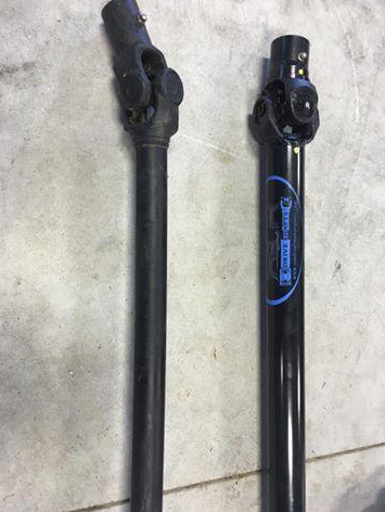 Sandcraft Turbo S 2 Seat Full Replacement Driveshafts W Carrier Bearing