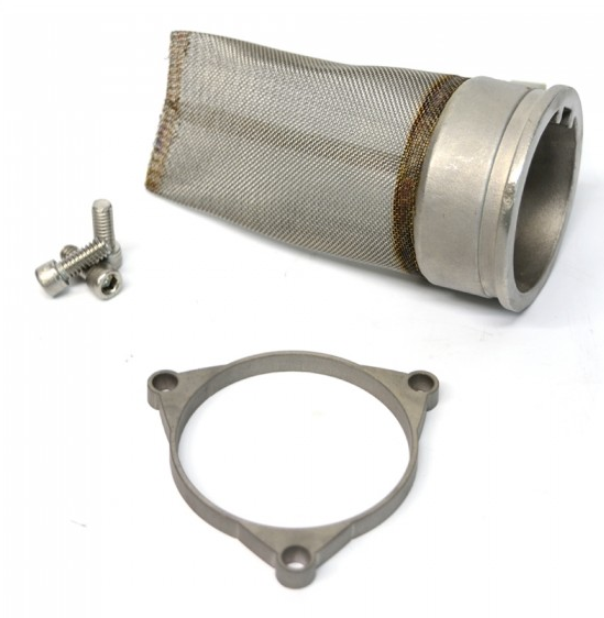 Crusher Exhaust Spark Arrestor