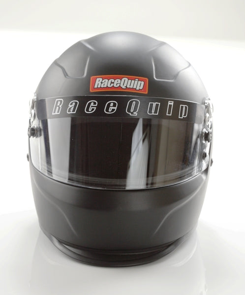 Pro15 Full face flat black race helmets