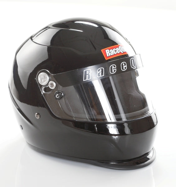 PRO15 Full face glass black racing helmet
