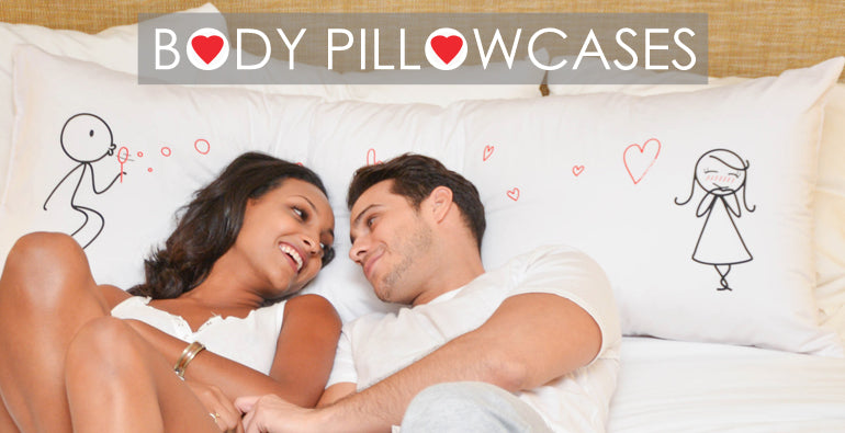 BoldLoft Body Pillowcases, Body Pillow Covers
