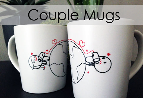 Boy Meets Girl Couple Mugs