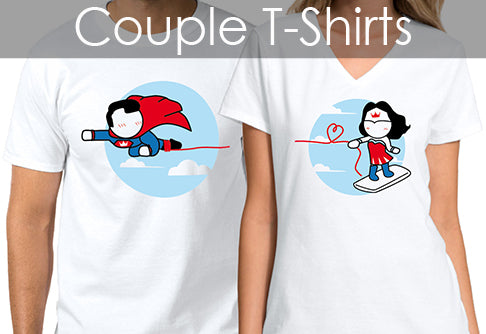 Love A Lot Couple Shirts