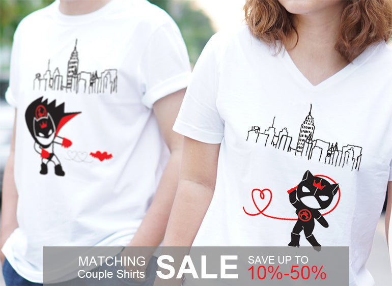 BoldLoft Couple Shirts Sale