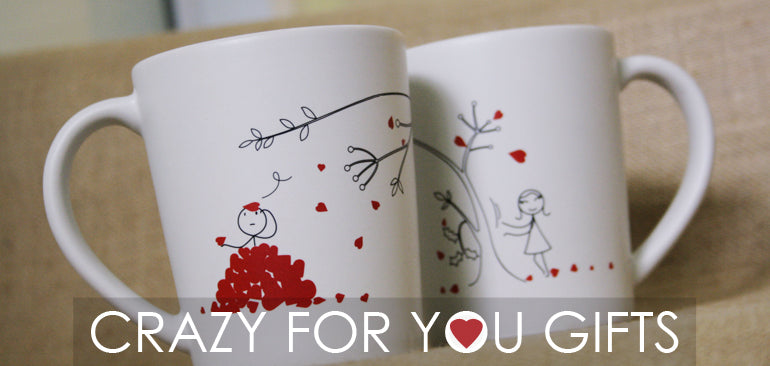 BoldLoft Crazy for You Gifts for Him or Her