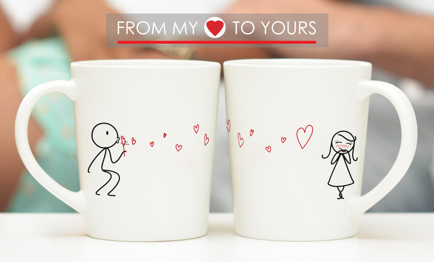 From My Heart To Yours Couple Mugs