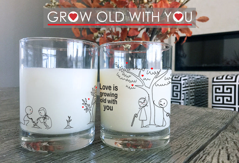 Grow Old With You Anniversary Gifts for Couples