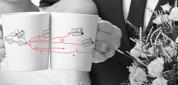 Wedding Gifts for Bride and Groom,His and Hers Wedding Gifts,Creative ...