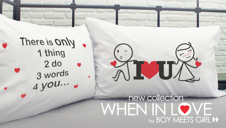 Boy Meets Girl's When In Love Collection