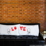 Gifts for Lesbian Couples-My Love is Yours™ Lesbian Couple Pillowcase Set