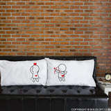 Lesbian Couple Wedding Gifts-You're the One Lesbian Couple Pillowcase Set