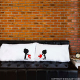 BoldLoft Complete My Heart™ Couple Pillowcases