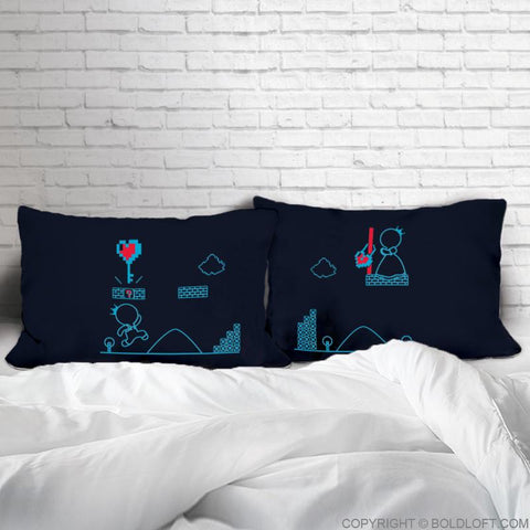 Key to My Heart™ His & Hers Couple Pillowcases