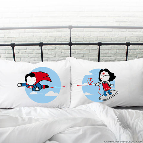 Made for Loving You™ His & Hers Couple Pillowcase Set