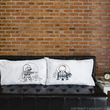 star wars gifts boldloft couples gifts his and hers pillowcases
