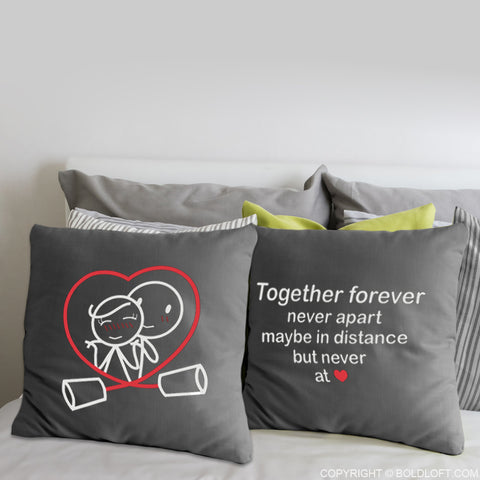 Together Forever™ Euro Pillow Covers