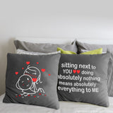 You Mean Everything to Me™ Euro Pillow Covers