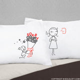 Forgive Me Please!™ Couple Pillowcases