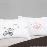 Wedding Gifts for Bride & Groom-Forever & Ever Couple Pillowcases