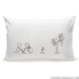 Grow Old with You™ Couple Pillowcases (Left)