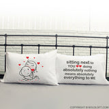 You Mean Everything to Me™ Couple Pillowcase Set