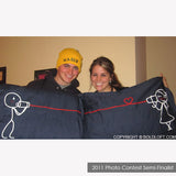 BoldLoft Say I Love You His and Hers Pillowcases (Dark Blue)