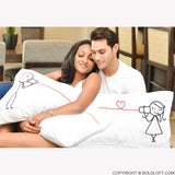 Valentines Day Gifts for Girlfriend-BoldLoft Say I Love You Couple Pillowcase Set