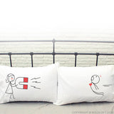 Valentines Day Gifts for Boyfriend-You're Irresistible His and Hers Pillowcases