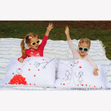 BoldLoft Love You Madly His and Hers Pillowcases
