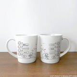 Wish You Were Here™ Couple Mug Set