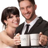 Wedding Gifts for Bride & Groom-BoldLoft Just Married Couple Coffee Mugs