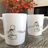 Wedding Couple Gifts-BoldLoft Endless Love His and Hers Mugs