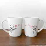 Love Me Tender™ Couple Mugs