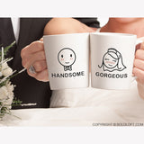 A Perfect Match™ Bride & Groom Coffee Mug Set