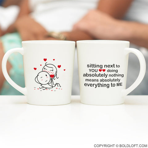 You Mean Everything to Me™ Couple Mug Set