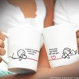 Between You & Me™ Couple Mug Set